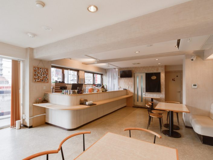 A Hostel Newly Opened in Osaka